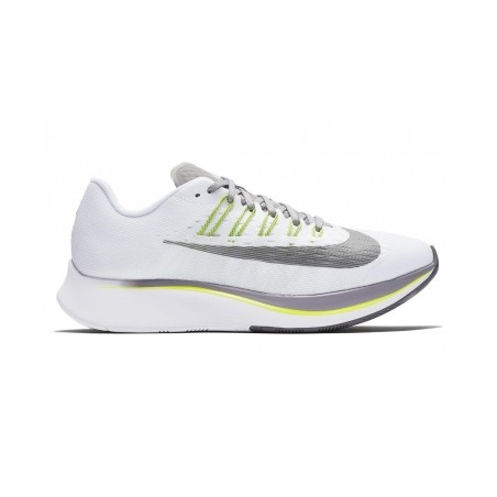 Chaussures de Running Femme Nike Zoom Fly Blanc / Jaune