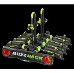 Porte-vélo sur boule d´attelage pliable 4 vélos Buzz Rack Buzzwing 4