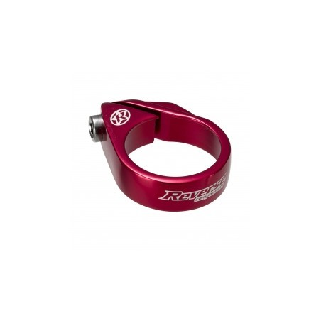 REVERSE Collier de selle à vis Diamètre 34.9 mm Rouge