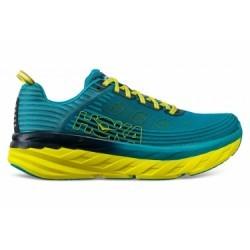 Chaussures de Running Hoka One One Bondi 6 Bleu / Jaune