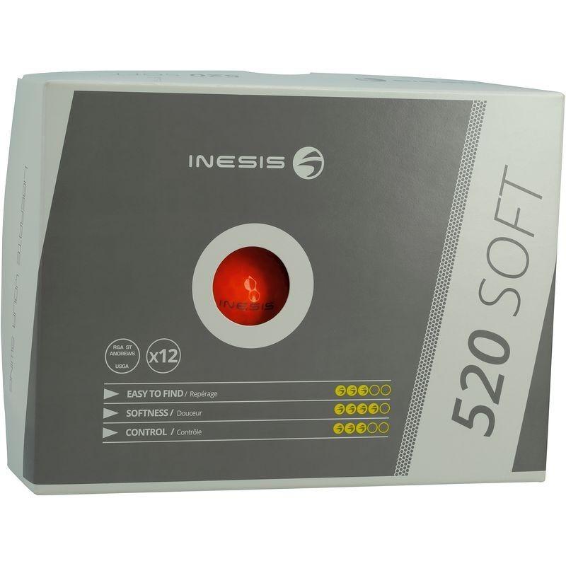 Balle 520 Soft X12 Orange