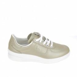Basket mode, Sneaker Chaussure de sport TBS Brandy Metal Platine