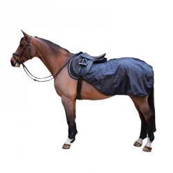 Couvre-reins équitation Allweather noir - tailles cheval et poney