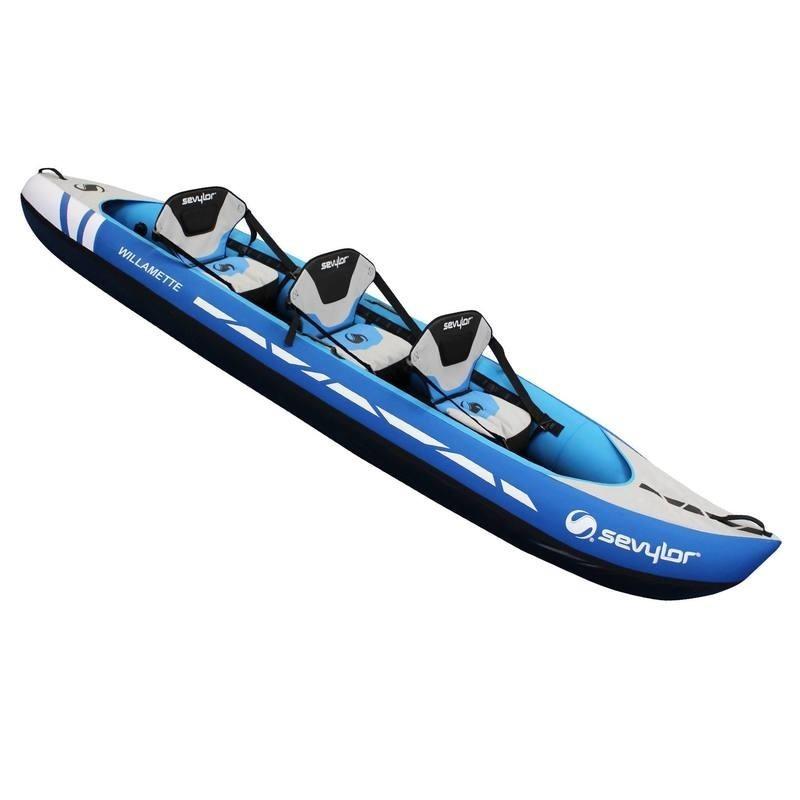 Avis Test Kayak Gonflable Willamette 2 Ou 3 Places Sevylor Prix