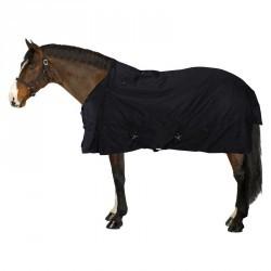 Couverture d'extérieur équitation Allweather 200 600D noir - tailles cheval