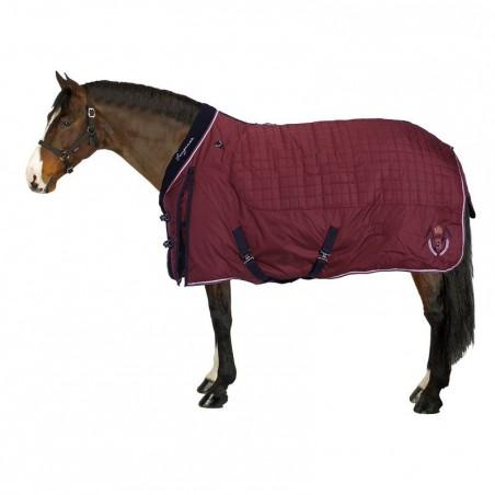 Couverture d'écurie équitation STABLE 400 bordeaux - poney et cheval