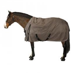 Couverture d'extérieur équitation Allweather 300 1000D marron - cheval et poney