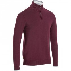 PULL GOLF HOMME 540 BORDEAUX
