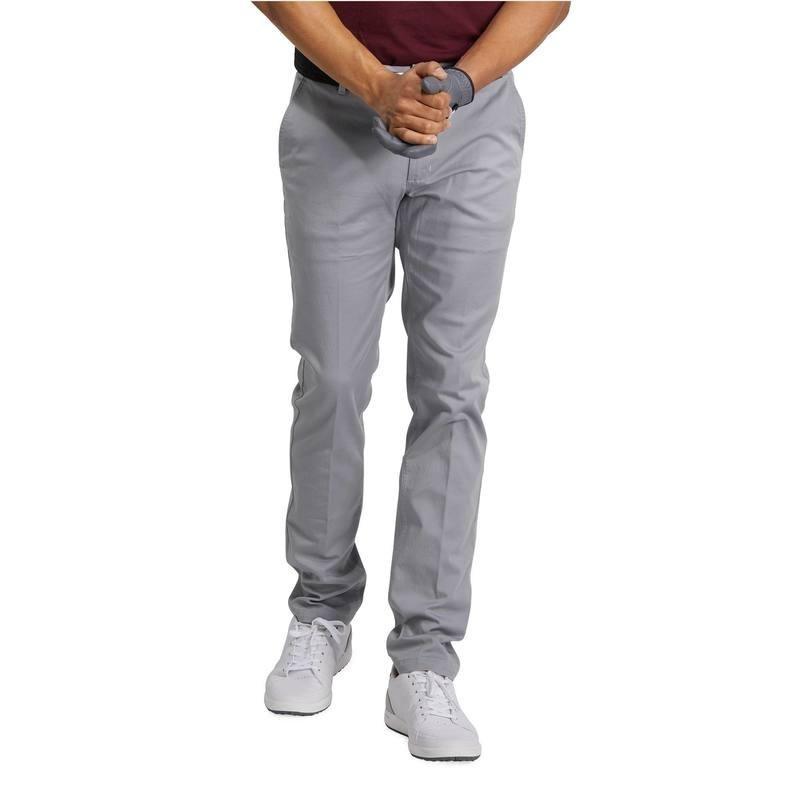 avis test pantalon golf homme 500 gris acier inesis prix. Black Bedroom Furniture Sets. Home Design Ideas