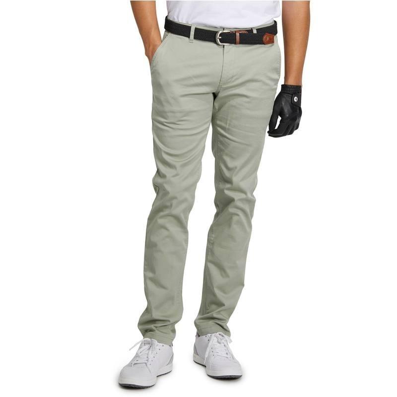 avis test pantalon golf homme 500 vert clair inesis prix. Black Bedroom Furniture Sets. Home Design Ideas