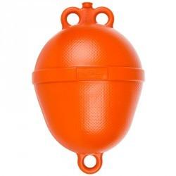 Bouée mouillage bateau rigide orange