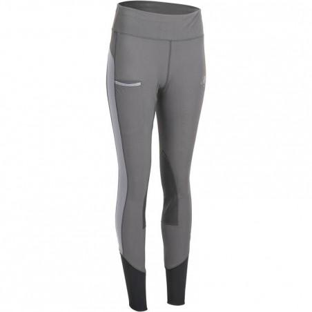 Pantalon équitation femme ACCESSY LIGHT gris foncé