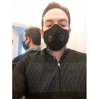 MASQUE ANTI-POLLUTION VOGMASK DOUBLE VALVE