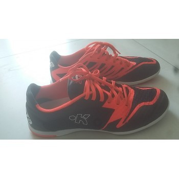 Avis test Chaussure de futsal futsal de adulte CLR 700 Pro noire orange c7904a