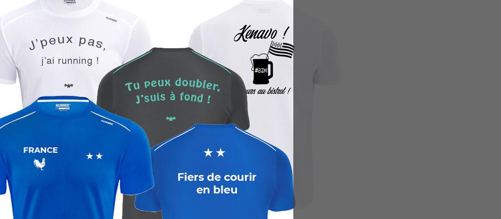 T-Shirt sport originaux ultra-légers