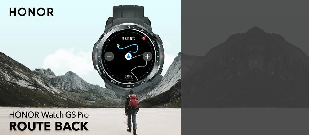Testez et conservez la nouvelle Honor Watch GS Pro !
